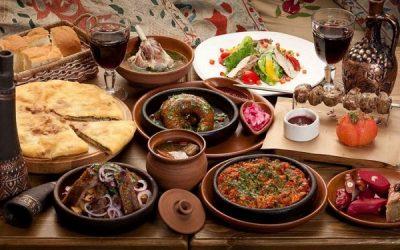 Nét đẹp văn hóa ẩm thực khi du lịch Gruzia bạn nên biết