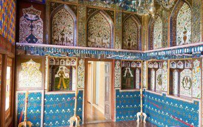 Vẻ đẹp cung điện mùa hè Sheki Khan khi đi du lịch Azerbaijan