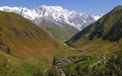 Làng Ushguli Gruzia – Nơi cao nhất có người ở trên toàn châu Âu