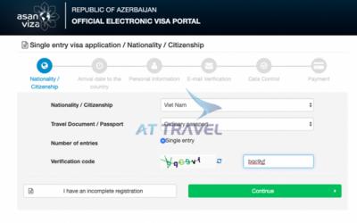 Hướng dẫn chi tiết cách xin Visa Azerbaijan online