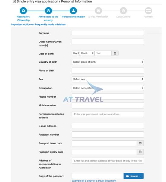 Visa Azerbaijan online