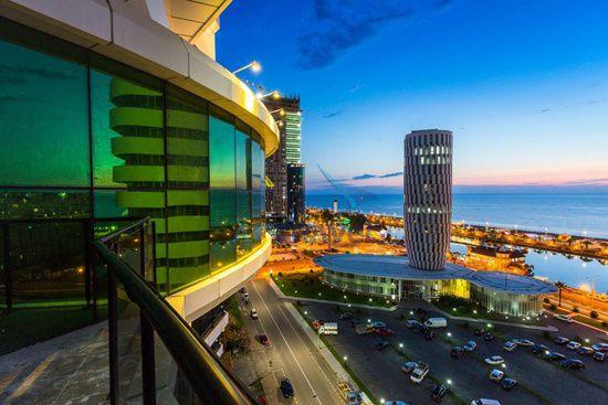 Thành phố biển Batumi Georgia