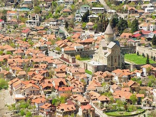 Du lịch Georgia, đến thăm thành phố cổ Mtskheta